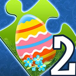 Holiday Jigsaw Easter 2 - Happy Easter, jigsaw fans! Put together 500 holiday-themed pictures in Holiday Jigsaw Easter 2! - logo