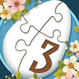 Holiday Jigsaw: Easter 3 - ¡Forma 500 divertidas imágenes de Pascua en Holiday Jigsaw Easter 3! - logo