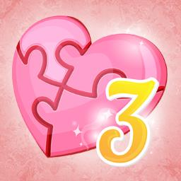 Holiday Jigsaw: Valentine's Day 3 - In Holiday Jigsaw Valentine's Day 3, romance is in the air. Solve 500 romantic puzzles! - logo