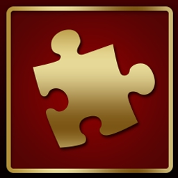 Hollywood Player JigScene - In Hollywood Player JigScene, race to solve a jigsaw puzzle with a movie scene playing on the pieces! - logo