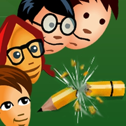 Homework Tower Defense - Destroy the concept of homework once and for all in Homework Tower Defense. Play FREE now! - logo