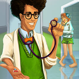 Hospital Manager - Build and manage a one-of-a-kind hospital in the simulation game Hospital Manager. Will your hospital succeed? - logo