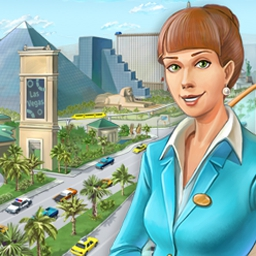 Hotel Mogul: Las Vegas - Buy, develop, and sell properties for a profit. The point-and-click fun of Hotel Mogul will have you laughing all the way to the bank! - logo