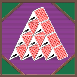 House of Cards - Build your house of cards with solid strategy! - logo