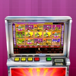 Hoyle Magic Carpet - Hit the Jackpot with exciting slot games from HOYLE®!  Features mechanical and video slots and fun bonus rounds! Play Hoyle Magic Carpet today! - logo