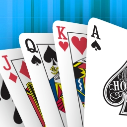 Hoyle Solitaire & More - Play your favorite classic card games in Hoyle Solitaire & More! Review the official rules and get tips and strategies to give you the winning edge! - logo