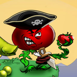 I am Vegend: Zombiegeddon - Survive the Zombiegeddon and take revenge upon the birds, the pigs, and the zombies! - logo