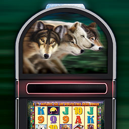 IGT Slots 100 Wolves - Go wild with IGT Slots 100 Wolves and get 4 authentic, Vegas-style slots games! - logo