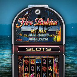 IGT Slots Fire Rubies - Get four authentic slot machines right on your computer! IGT Slots Fire Rubies brings you the sights and sounds of a real casino! - logo