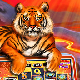 IGT Slots: Sumatran Storm - Are you feeling lucky? Get 15 slots games for one great price with IGT Slots: Sumatran Storm! - logo