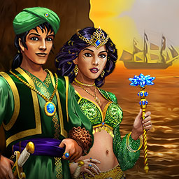 Imperial Island 2: The Search for New Land - In the Match 3 game Imperial Island 2: The Search for New Land, you'll go on an epic journey to help Emperor Omadana find his son. - logo
