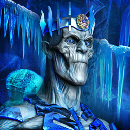 Insane Cold: Back to the Ice Age - An antique amulet wakes evil Frost Giants who threaten the world with an eternal ice age in Insane Cold: Back to the Ice Age, a hidden object game. - logo