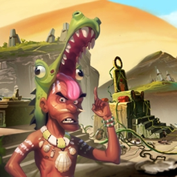 Isla Dorada - Episode 1: The Sands of Ephranis - Isla Dorada offers adventure, exploration, hidden objects and solving puzzles! Find your way home by exploring and escaping the island. - logo