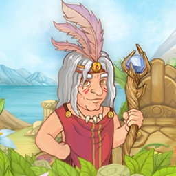 Island Tribe 3 - Find the magic runes, rescue the bride, and dive into exciting island adventures in Island Tribe 3! - logo