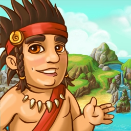 Island Tribe 4 - The Islanders are here again! Help the shaman get his true appearance back as you explore 44 new adventures. Play Island Tribe 4 today! - logo