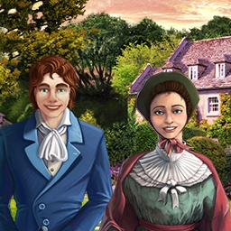 Jane Austen's Estate of Affairs - Search for Jane Austen's missing novel and help save her estate from greedy villains in the hidden object game Jane Austen's Estate of Affairs! - logo