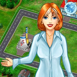 Jane's Realty Online - Buy land, build houses, and manage a realty company in Jane's Realty Online! Play the free, online version of this popular game now. - logo
