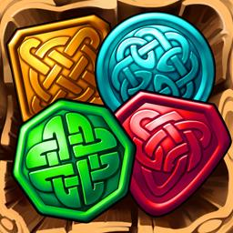 Jewel Tree - Chain together colorful chips in over 90 levels in the match 3 game Jewel Tree! - logo