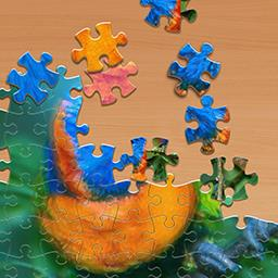 Jigsaw - Choose your difficulty in the FREE game Jigsaw! - logo