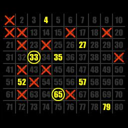 Keno - To play Keno, simply pick numbers on the board and decide how much you want to bet. It's like playing the lottery without losing a penny! - logo