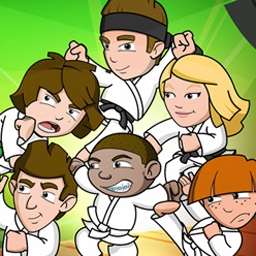 Kickin' It: Hollywood Rumble - In Kickin' It: Hollywood Rumble, conquer the Great Wasabi Challenge! Avoid your enemies and pick up special items in this free online game. - logo