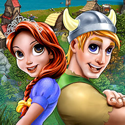 Kingdom Tales 2 - Bring Finn and Dahla together in the time management game Kingdom Tales 2! - logo