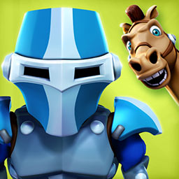 Last Knight - In this action-packed platformer, you'll have to joust your way to victory. Are you the Last Knight? - logo