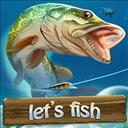 Let's Fish - logo