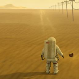 Lifeless Planet - Travel outside the solar system and explore a Lifeless Planet in this adventure game. - logo