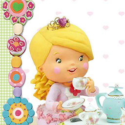 Little Girl: Tess Plays At Being A Princess - Little Girl: Tess Plays At Being A Princess, es una divertida historia interactiva basada en la popular serie de libros Little Girl. - logo