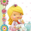 Little Girl: Tess Plays At Being A Princess - logo