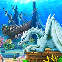 Lost in Reefs 2 - Swap, chain or explode colored game pieces in this fun match-3 title. Choose between 3 classic styles of gameplay in Lost in Reefs 2. - logo