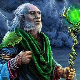 Lost Island: Eternal Storm - You must help the elven people survive in the hidden object game Lost Island: Eternal Storm. - logo