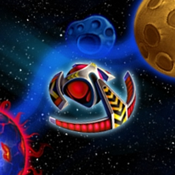 Magic Ball 4 - In Magic Ball 4, aliens have entered our galaxy and kidnapped thousands of men and women! Strap into your spaceship and blow 'em away! - logo