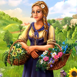 Magic Farm - Raise magical flowers and fruits to earn money and find your parents. - logo
