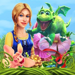 Magic Farm 2: Fairy Lands - Magic Farm 2: Fairy Lands is all about the new adventures of Iris and Robin! Work hard to succeed in this Time Management game. - logo