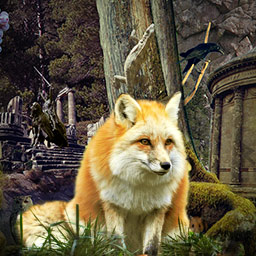 Magic Forest - In the hidden object game Magic Forest, you can choose from Picture, Silhouette or Word mode! - logo