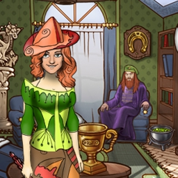 Magic Life - Take part in a magician's tournament in Magic Life! Create and customize your character, then defeat other magicians to advance. - logo