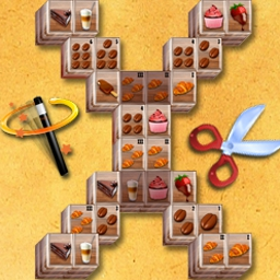 3D Mahjong Deluxe - Take the world-famous Chinese puzzle game to the third dimension. Puzzle through 120 brain-bending levels in 3D Mahjong Deluxe! - logo