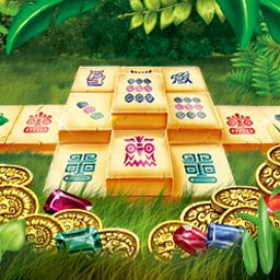 Mahjongg - Ancient Mayas - Embark upon a fantastic Mahjongg adventure in Mahjongg - Ancient Mayas! - logo