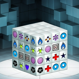 Mahjongg Dimensions - Mahjongg Dimensions is the classic puzzle game with a big twist! - logo