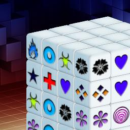 Mahjongg Dimensions - Mahjongg Dimensions is a mahjong game with a twist! Play FREE! - logo
