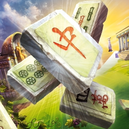 Mahjong Mysteries: Ancient Athena - Uncover the treasures of this once-splendid culture with famous adventurer, David Deanfield. Play Mahjong Mysteries: Ancient Athena today! - logo