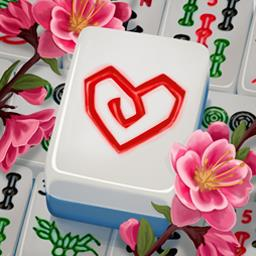 Mahjong Valentine's Day - Collect golden tiles and play 120 levels in Mahjong Valentine's Day! - logo