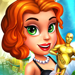 Make It Big In Hollywood - Play the time management game Make It Big In Hollywood! Go from the backyard to the red carpet. - logo