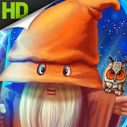 Mana Crusher - Battle other wizards in this fun twist on Match 3 games! Gather your team of wizards and play over 100 puzzles in the magic world of Mana Crusher! - logo
