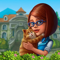 Manor Memoirs Collector's Edition - Scarlett, hoping to recapture her inspiration, buys an old mansion in Manor Memoirs Collector's Edition, a hidden object game. - logo