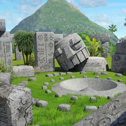 Marooned - Marooned is a thrilling hidden object adventure filled with mysteries! - logo