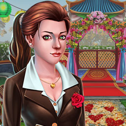 Mary Knots: Garden Wedding - Help Mary fix up her garden in Mary Knots: Garden Wedding, a hidden object game! - logo