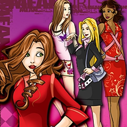 Mean Girls - High School Showdown - Beloved peacemaker or Queen B? Decide in Mean Girls - High School Showdown! - logo